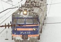 Железнодорожное сообщение Москва – Смоленск нарушено из-за ледяного дождя
