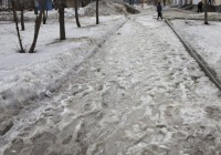 В Смоленске глобальное декабрьское потепление