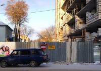 Улица Нахимсона в Смоленске останется закрытой до апреля 2017 года