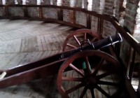 В экспозиции смоленской Громовой башни появились мортиры и боевые орудия