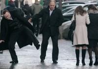 На скользких тротуарах Смоленска десятки людей получили травмы