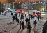В Смоленске снова снова случился ночной пожар в общежитии медуниверситета