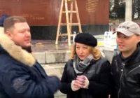 Смолянка помогла отмыть оскверненный памятник советским солдатам в Вене