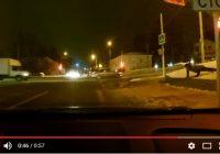 Смолянин на светофоре 20 раз отжался, но так и не дождался зелёного сигнала