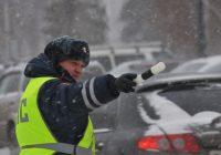 На новогодних выходных в Смоленске поймали 24 пьяных водителя