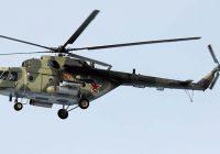 Над Смоленском летают боевые вертолёты