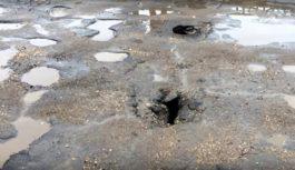 На Смоленском мосту в Вязьме появились сквозные дыры