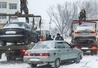 В Смоленске будут эвакуировать машины, мешающие уборке улиц