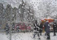 В понедельник в Смоленске пойдет мокрый снег с дождем