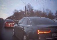 В Смоленске оштрафовали водителя, автохамство которого попало на YouTube