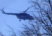 Над площадью Победы в Смоленске кружили военные вертолеты