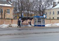 В Смоленске разгромили остановочные павильоны