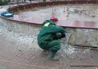 Фонтан на Блонье в Смоленске начали ремонтировать