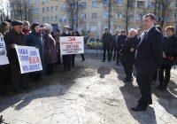 Власти Смоленска просят вернуть городу сквер около «Гамаюна»