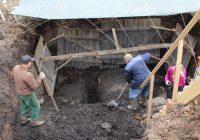 На Соборном холме в Вязьме нашли древнее кладбище
