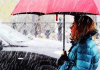 В субботу в Смоленске выпадет мокрый снег