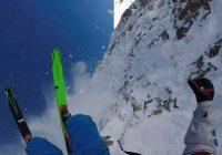 Лыжник-фрирайдер из Смоленска заснял свое опасное падение в Австрии