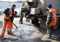 «Смоленскавтодор» ведет ямочный ремонт на пяти улицах города
