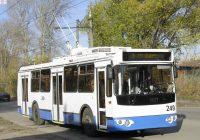 Краснинское шоссе в Смоленске закроют для троллейбусов из-за капремонта