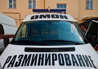 Улицу Октябрьской революции оцепили в Смоленске