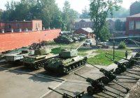 Смоленский музей войны просит помочь в покраске образцов боевой техники