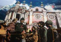 В Смоленске завершили патриотическое полотно, посвященное Дню Победы