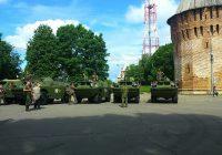 Прибытие бронепробега в Смоленск. Прямая трансляция