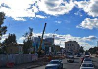 Движение по улице Кашена ограничат до 15 сентября