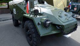 Бронепробег «Дорога Мужества» возвращается в Смоленск