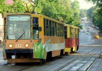 Движение трамваев в центре Смоленска парализовано второй день