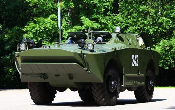 Демонстрация исторических образцов бронетехники пройдёт в Смоленске в понедельник