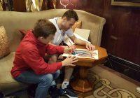 Сборная России встретилась с воспитанниками смоленского детского дома