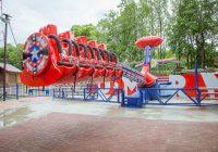В городском парке Смоленска появился экстремальный аттракцион для детей