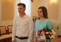 Тысячная пара молодоженов зарегистрирована в Смоленске