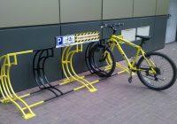 В Смоленске появились новые велопарковки