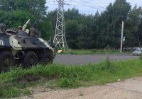По Смоленску вновь проехала бронетехника