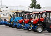 В Смоленск прибыла новая коммунальная техника
