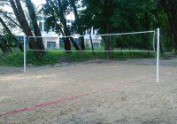 В смоленском лесу появилась волейбольная площадка