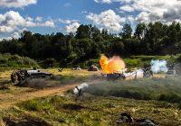 На Соловьёвой переправе прошла военная реконструкция: фото и видео