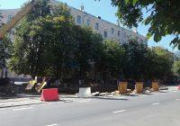 Трамваи в Смоленске по-прежнему не ходят в центр