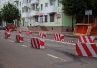Смоленский ЗАГС огородили бетонными блоками