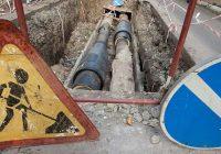 В Смоленске произошёл порыв на тепломагистрали