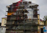 Фото граффити на улице Октябрьской революции