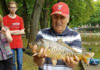 Рекордом Дня рыбака в Смоленске стал карп весом более 3 кг