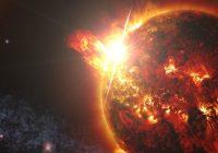 Ученые: вспышка на Солнце «сжигает» линии геомагнитного поля Земли
