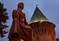 На башне Громовой установили подсветку