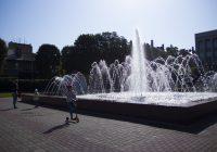 Смоленский фонтан отремонтировали