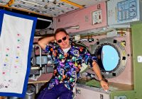 Смолянин отпраздновал День рождения в космосе