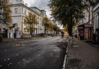 Центр Смоленска закрыт и перерыт