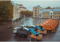 Зимой в Смоленске должно быть чисто